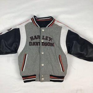 Harley Davidson snap up jacket